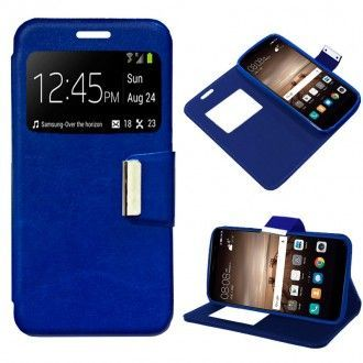 Funda Flip Cover iPhone 7 Liso Azul