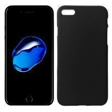 Funda Silicona iPhone 7 Plus (Negro)