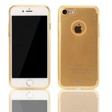 Remax : Carcasa Sunshine - Apple iPhone 7 - Dorado (blíster)