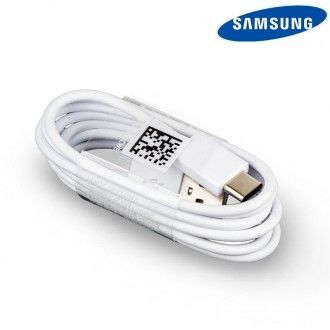 Cable de datos Original Samsung USB - Type C EP-DN930CWE blanco, bulk