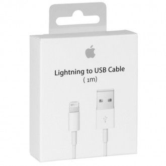 26542c86764 Cable USB Original Cable Original lightning MD818ZM para iPhone 5/5C/5S/6