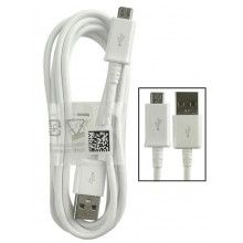 Cable Micro-Usb Samsung Original 1,5 m Blanco
