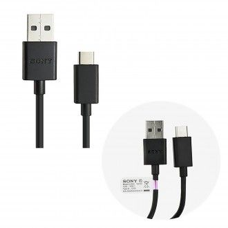Cable USB tipo C Original SONY UCB20 , type c usb cable para Xperia XZ,X Compac