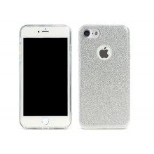 Remax : Carcasa Glitter- Apple iPhone 6 / 6s - plata