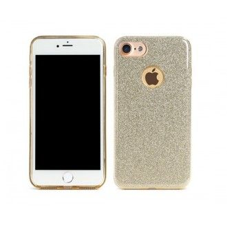 Remax : Carcasa Glitter- Apple iPhone 6 / 6s - Dorado