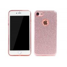 Remax : Carcasa Glitter- Apple iPhone 6 / 6s - Rosa