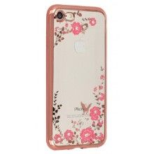 Carcasa FLOWER para iPhone 7 / 8 Rosa