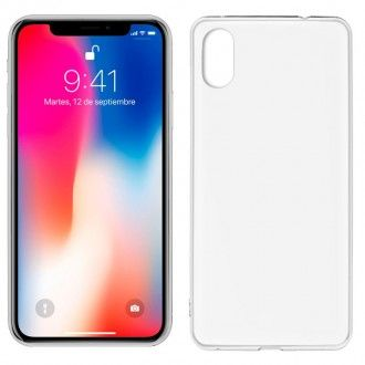 Funda Silicona IPhone X (Transparente)