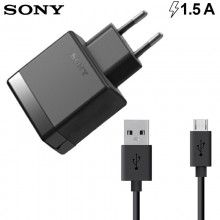 Cargador Sony Original de red 1500mA Ep880 + Cable USB Sony Original Ec801