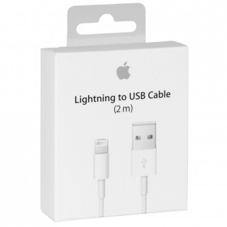 Apple Cable Lightning a USB 2 Metros