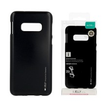 Funda Gel Tpu Mercury i-Jelly Metal para Samsung G970 GALAXY S10E color Negro
