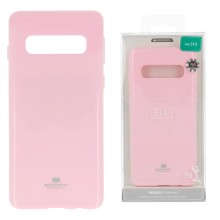 Funda Gel Tpu Mercury i-Jelly Metal para Samsung G970 GALAXY S10E color rosa