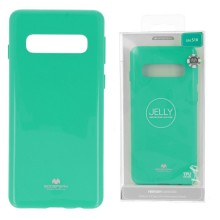 Funda Gel Tpu Mercury i-Jelly Metal para Samsung G970 GALAXY S10E color Menta
