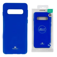 Funda Gel Tpu Mercury i-Jelly Metal para Samsung G970 GALAXY S10E color Azul