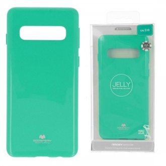 Funda Gel Tpu Mercury i-Jelly Metal para Samsung G973 GALAXY S10 color Menta