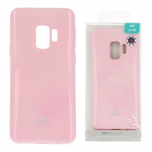 Funda Gel Tpu Mercury i-Jelly Metal para Samsung G960 GALAXY S9 color rosa