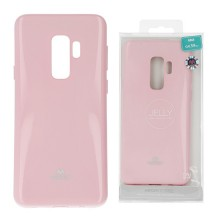 Funda Gel Tpu Mercury i-Jelly Metal para Samsung G965 GALAXY S9 Plus color rosa