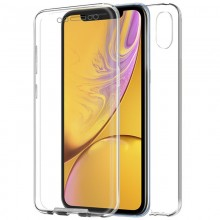 Funda Silicona 3D iPhone XR (Transparente Frontal + Trasera)