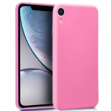 Funda Silicona iPhone XR (rosa)