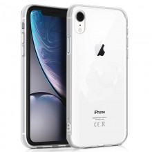 Funda Silicona iPhone XS Max (Transparente)