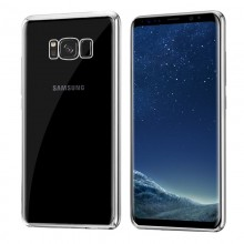 Galaxy S8 Plus Borde Metalizado (Plata)