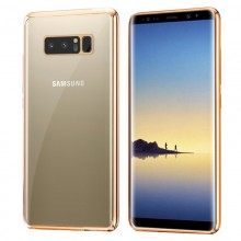 Carcasa Samsung N950 Galaxy Note 8 Borde Metalizado (Dorado)