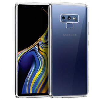 Carcasa Samsung N960 Galaxy Note 9 Borde Metalizado (Plata)