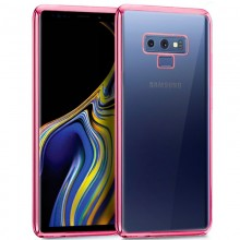 Carcasa Samsung N960 Galaxy Note 9 Borde Metalizado (Rosa)