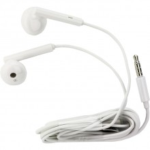 Auriculares Manos Libres On Ear Original Huawei AM115 / Blanco / Bulk